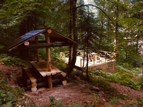 Домик в лесу - Accommodation - Dombay