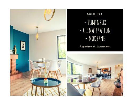 GUIERLE #4 - Appartement lumineux - 1 Chambre - Location saisonnière - Brive-la-Gaillarde