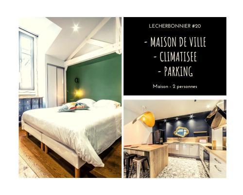 LECHERBONNIER #20 - Maison de Ville - 1 Chambre - Location saisonnière - Brive-la-Gaillarde