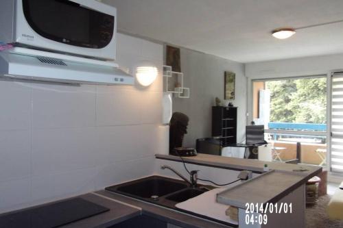 studio meublé ensoleillé fibre sfr box - Location saisonnière - Nîmes