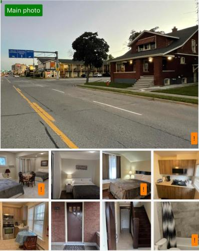Close to Clifton Hill, Casino and Niagara falls and with kitchen for 6 Guest - Accommodation - Niagara Falls