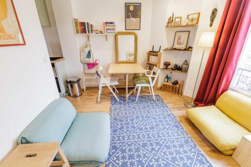 Nice BRIGHT apt in the heart of MONTREUIL - Location saisonnière - Montreuil