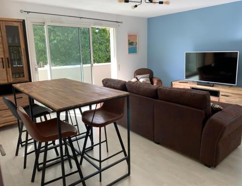 Appartement calme parking privé gratuit Résidence Vannes - Location saisonnière - Vannes