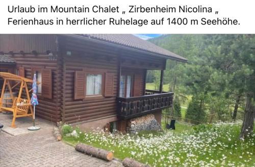 Almhaus Zirbenheim Nicolina - Flattnitz