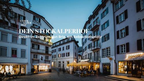 Hotel Stockalperhof - Brig
