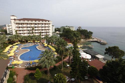 Okurcalar Aska Bayview Resort - All Inclusive harita