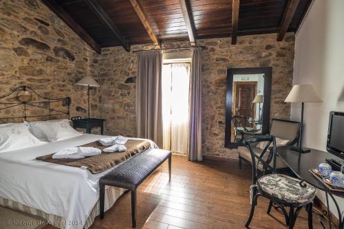 Doppel- oder Zweibettzimmer - Einzelnutzung Hotel Rustico Lugar Do Cotariño 68