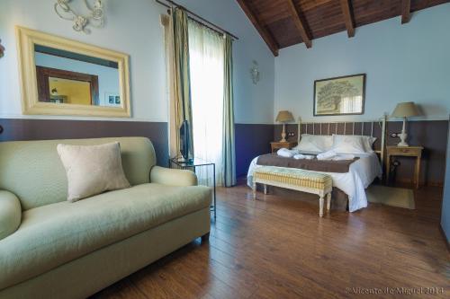 Doppel- oder Zweibettzimmer - Einzelnutzung Hotel Rustico Lugar Do Cotariño 77