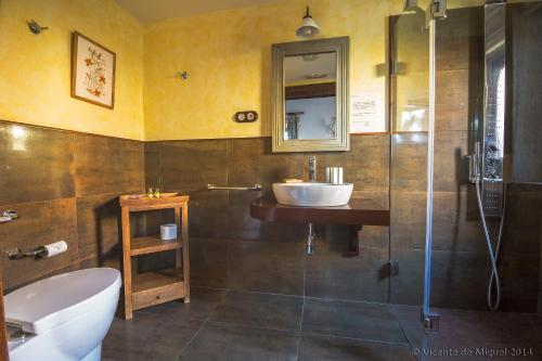 Doppel- oder Zweibettzimmer - Einzelnutzung Hotel Rustico Lugar Do Cotariño 81