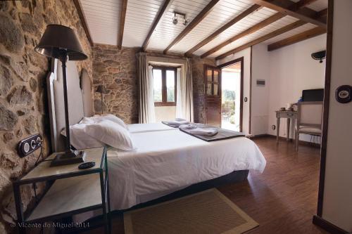 Doppel- oder Zweibettzimmer - Einzelnutzung Hotel Rustico Lugar Do Cotariño 59