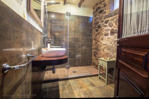Doppel- oder Zweibettzimmer - Einzelnutzung Hotel Rustico Lugar Do Cotariño 72