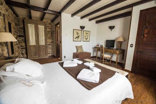 Doppel- oder Zweibettzimmer - Einzelnutzung Hotel Rustico Lugar Do Cotariño 69