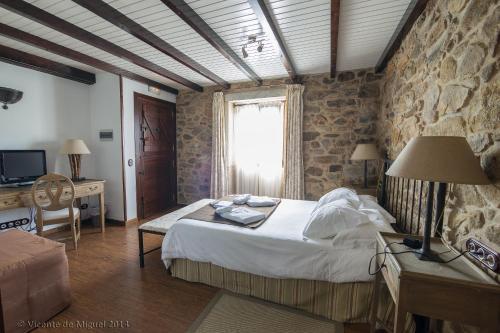 Doppel- oder Zweibettzimmer - Einzelnutzung Hotel Rustico Lugar Do Cotariño 66