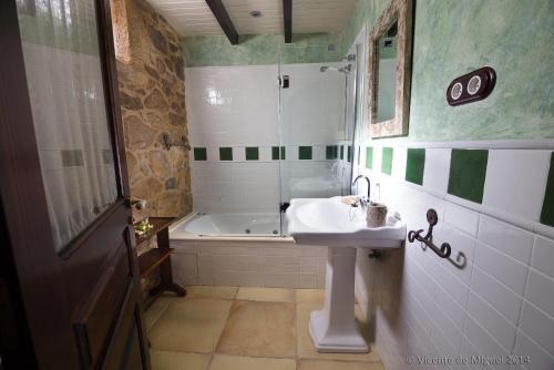 Doppel- oder Zweibettzimmer - Einzelnutzung Hotel Rustico Lugar Do Cotariño 67