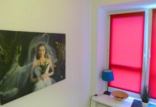 Hostel Camera Одноместный номер с общей ванной комнатой