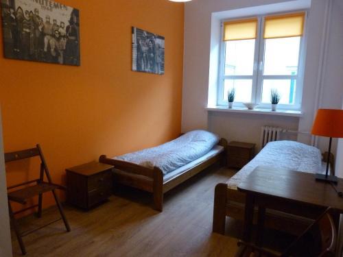 Двухместный номер с 1 кроватью и общей ванной комнатой