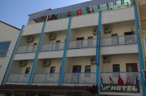 Kas Saray Hotel ulaşım