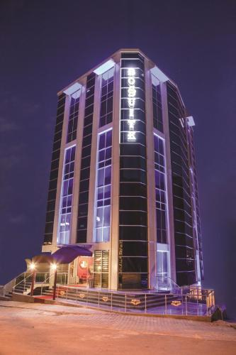 Istanbul Bossuite Hotel Maltepe harita