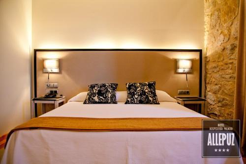 Standard Single Room Hospedería Palacio de Allepuz 10