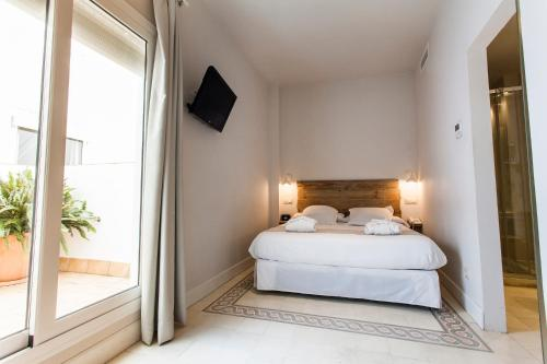 Double Room with Patio - single occupancy Hotel Boutique Elvira Plaza 8