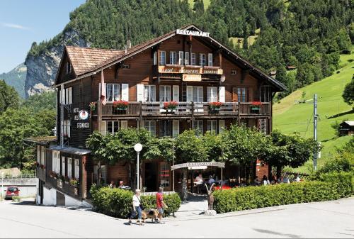 Accommodation in Lauterbrunnen