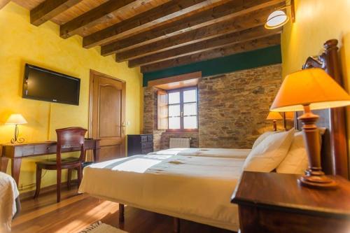 Doppel- oder Zweibettzimmer Casa do Merlo 19