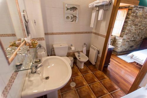 Doppel- oder Zweibettzimmer Casa do Merlo 21