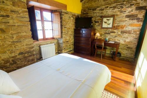 Doppel- oder Zweibettzimmer Casa do Merlo 24