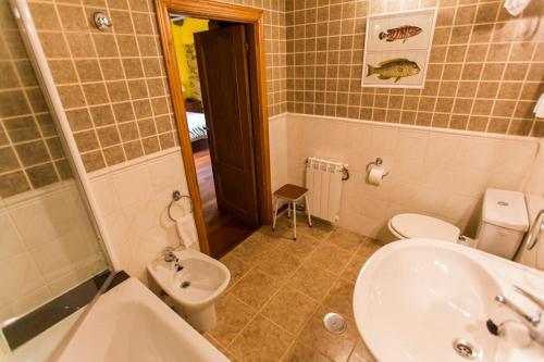 Doppel- oder Zweibettzimmer Casa do Merlo 25