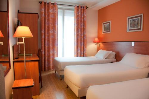 Hotel Eden Montmartre Трехместный номер