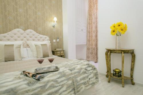 Interior Double Room Hostal Central Palace Madrid 25