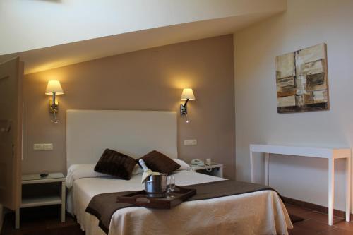 Double or Twin Room with View Hotel Leonor de Aquitania 17