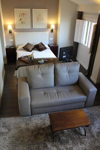 Double Room with Lounge Hotel Leonor de Aquitania 23