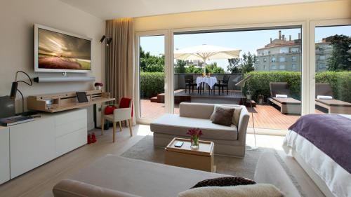 Attic Suite (1 or 2 people) ABaC Restaurant Hotel Barcelona GL Monumento 45