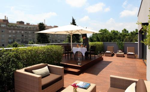 Attic Suite (1 or 2 people) ABaC Restaurant Hotel Barcelona GL Monumento 46