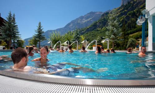 Hotel Alpenblick Leukerbad Therme