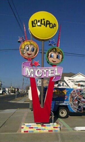 Lollipop Motel - North Wildwood, NJ 08260