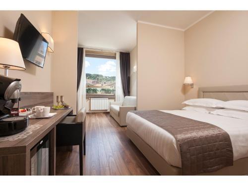 Hotel Window on Rome