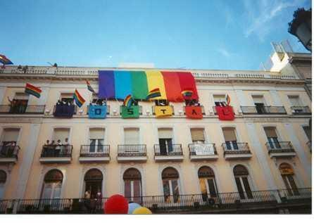 Gay Hostal Puerta del Sol Madrid.  Kuva 1