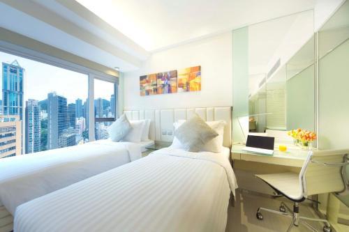 iclub Sheung Wan Hotel Двухместный номер