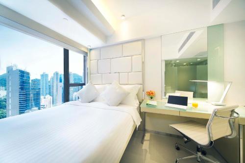 iclub Sheung Wan Hotel Номер с кроватью размера