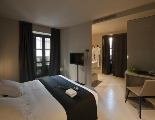 Doppel- oder Zweibettzimmer - Einzelnutzung Caro Hotel 16