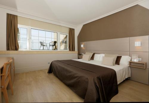 Doppel-/Zweibettzimmer mit Meerblick - Einzelnutzung Hotel Igeretxe 5