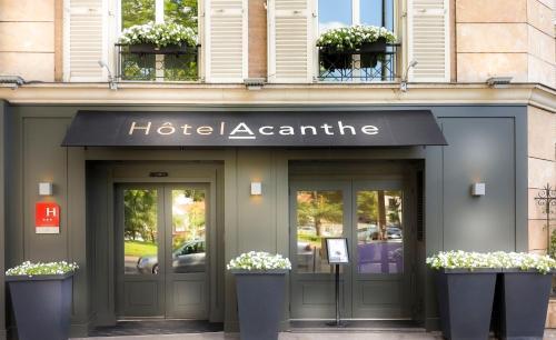Hotel Acanthe - Boulogne Billancourt - Hôtel - Boulogne-Billancourt