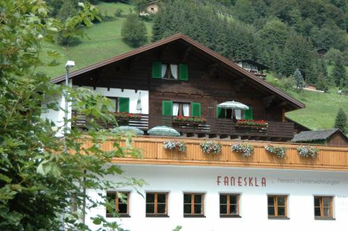 Hotel-Pension Faneskla - Silbertal