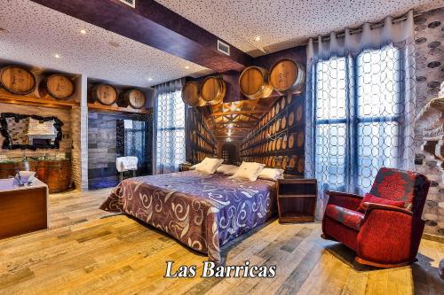 Junior Suite - single occupancy Hotel SPA Bodega El Lagar de Isilla 7