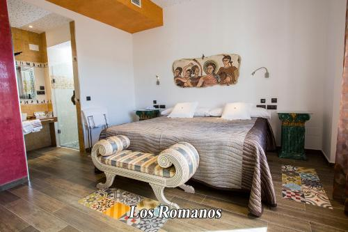 Habitación Doble - 1 o 2 camas - Uso individual Hotel SPA Bodega El Lagar de Isilla 12