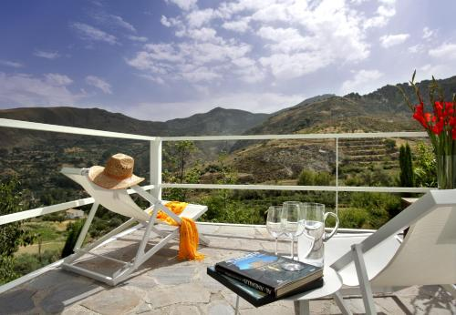 Habitación Doble Superior con terraza La Almunia del Valle 16