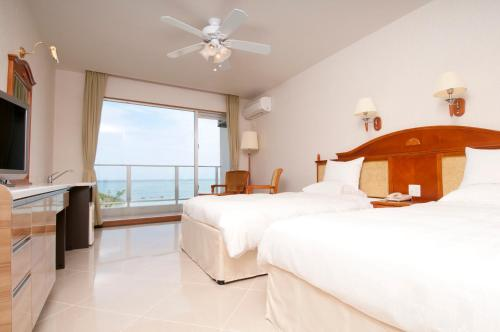 海景標準間- 禁煙 (Standard Room with Sea View - Non-Smoking)