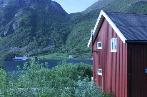 . Fisherman cabin and a house